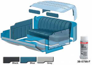 1953-56 Complete Vinyl Interior Kit ... Saves You Money and Will Make Your Interior Look Showroom New