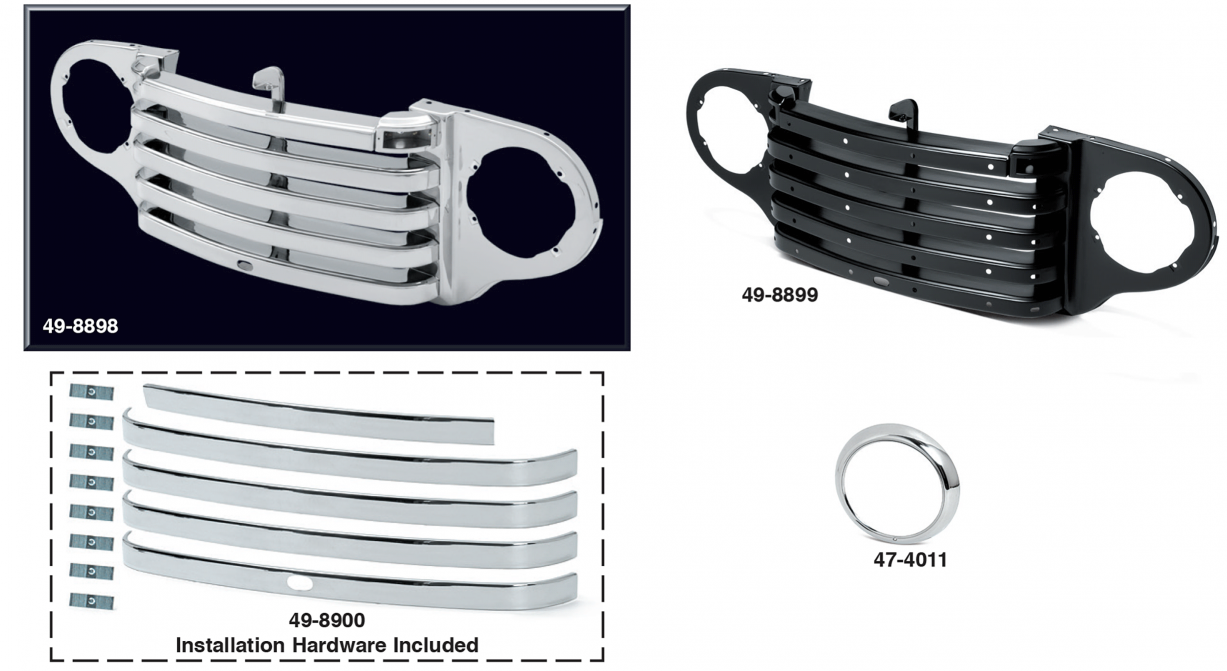 Grille Assembly and Components