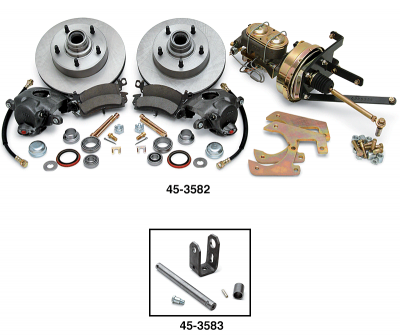 Power Disc Brake Conversion Kit … No More Front Drums