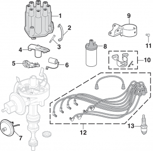 Ignition Components - V8