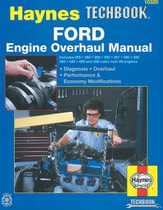 Ford V8 Engine Overhaul Manual