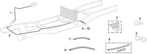 Pre-Bent Fuel Lines