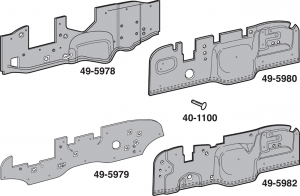 Insulated ABS Plastic Firewall Covers