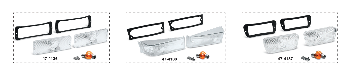 Clear Parklight Lens Kits
