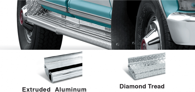 Aluminum Running Boards Give You a Step Up