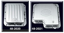 Chrome Transmission Pans