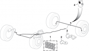 Pre-Bent Stainless Steel Brake Line Kits … Replace All Brake Lines on Your Truck