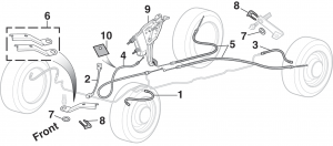 Brake Hoses, Cables and Components