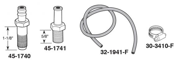 AXLE REAR BREATHER VENT TUBE FRAME FORD THUNDERBIRD OEM ORIGINAL 1962-1963 62-63