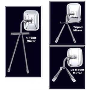 Tripod and Lo-Mount Mirrors