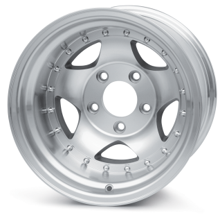 Aluminum 5 Spoke Wheel