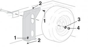 Spare Tire Carrier - Side Mount