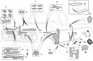 Body Rubber Parts