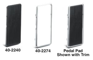 Accelerator Pedal Pad and Trim
