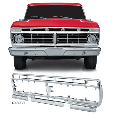Chrome Grille Shell
