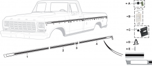 Upper Race Track Style Molding