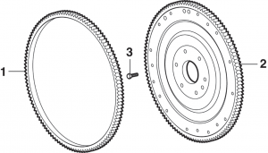 Flywheel, Flexplate and Ring Gear
