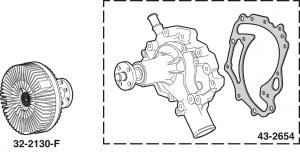 Fan Clutch and Water Pump