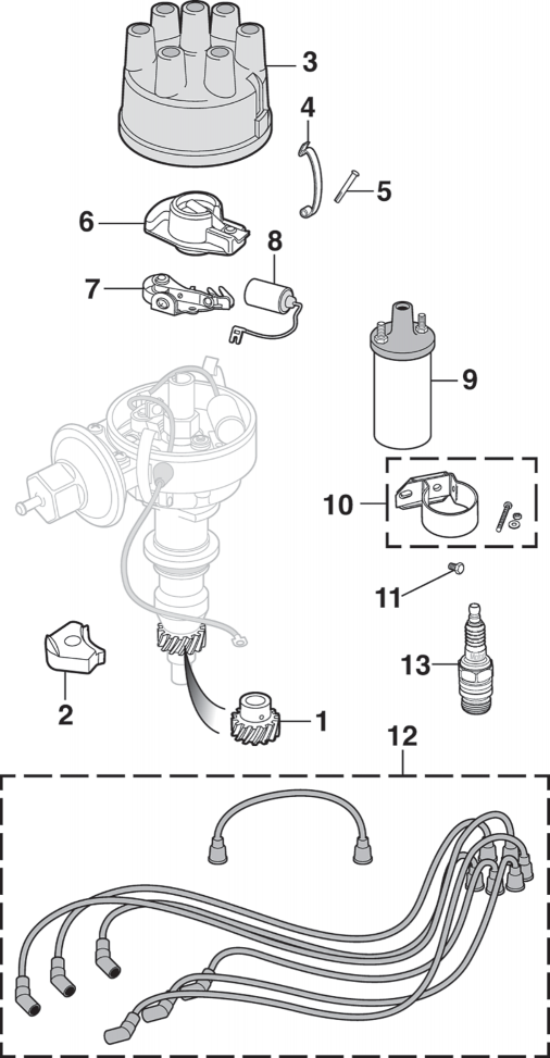 Ignition Components - 6 Cylinder