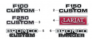Cowl Side Emblems