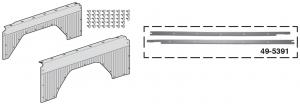Rear Quarter Panel Set