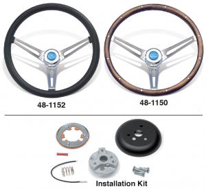 Classic Foam and Classic Wood Steering Wheels