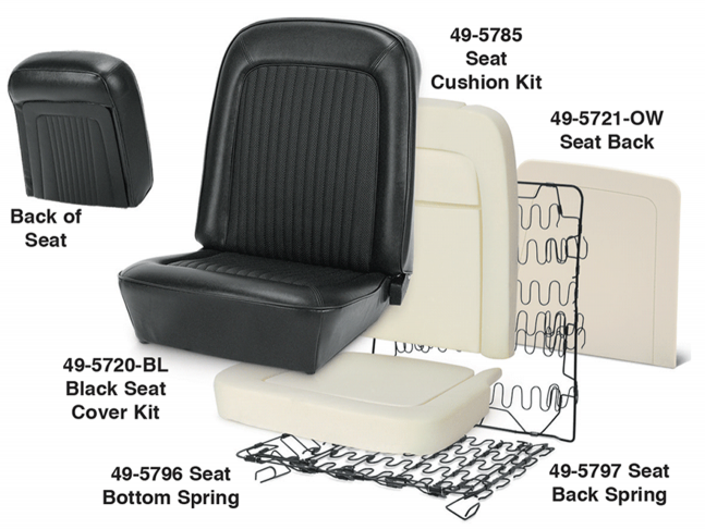 1968-77  Front Seat