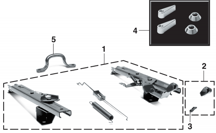 1966-77  Seat Components