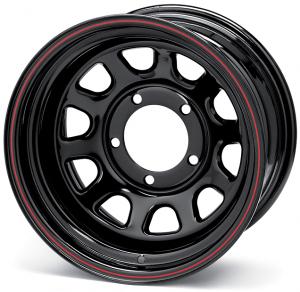 Black Daytona Wheel