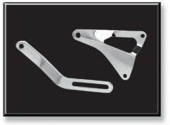 Chrome Alternator Bracket Set