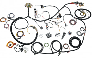 The Complete Wiring Harness for Your Early Bronco … Period