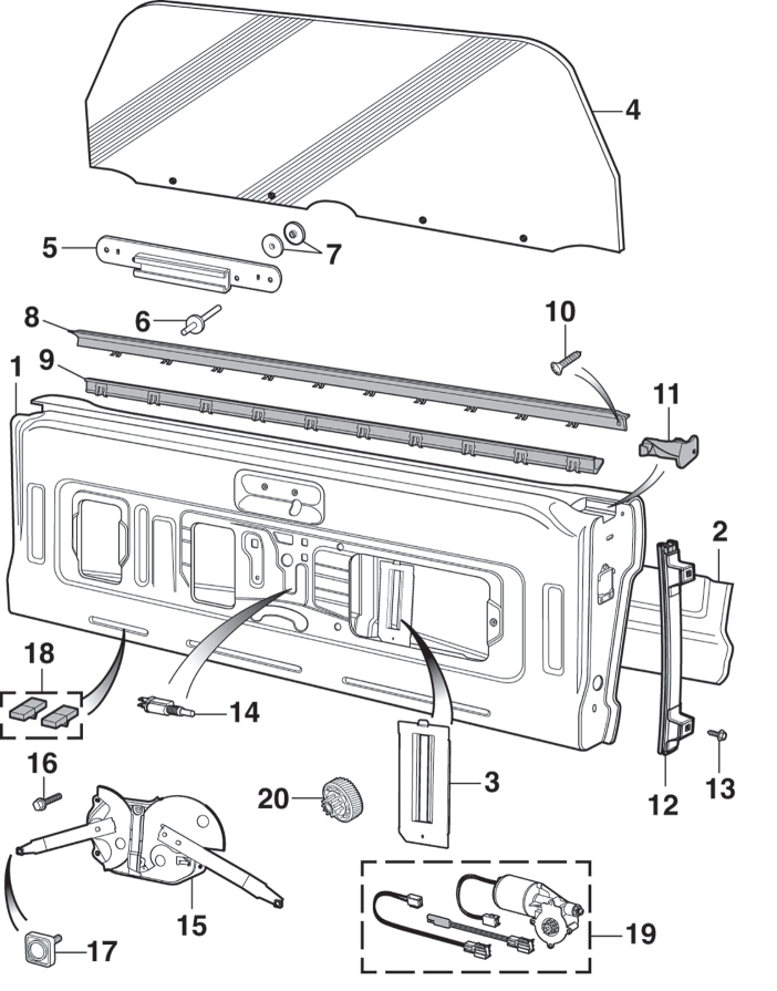 Tailgate and Components