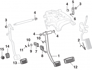 Pedal Pads and Components
