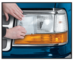Headlight and Parklight Protection Film