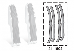 Front Bumper Guard Seal Set