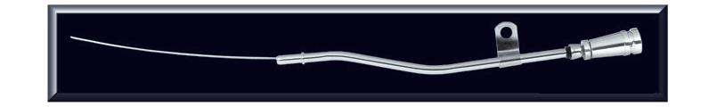 Chrome with Billet Handle Engine Dipstick