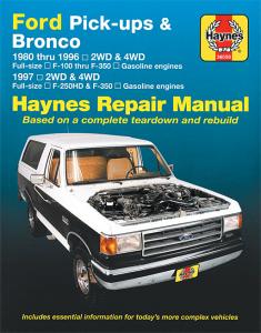 1980 -96 Haynes Manual