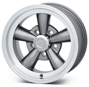 Vision Gun Metal 141 Legend 5 Wheel