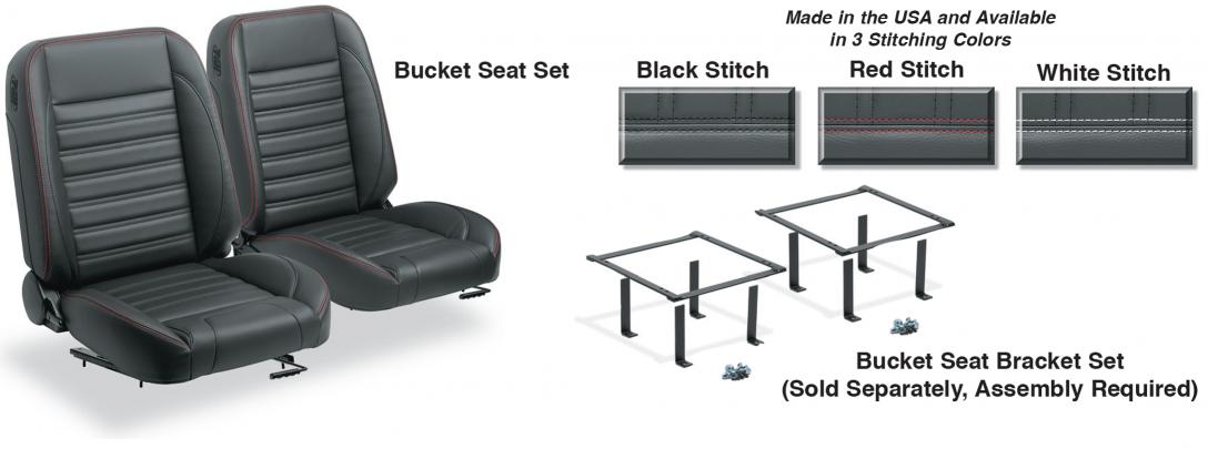 Pro Classic Sport Bucket Seat Set