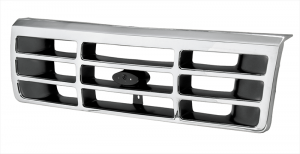 1992-96 Grille-Chrome and Gray