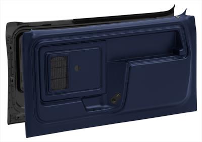 1980-86 Door Panel Set-Blue