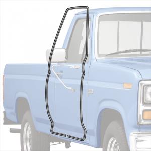 1980-96 Door Weatherstrip-On Cab