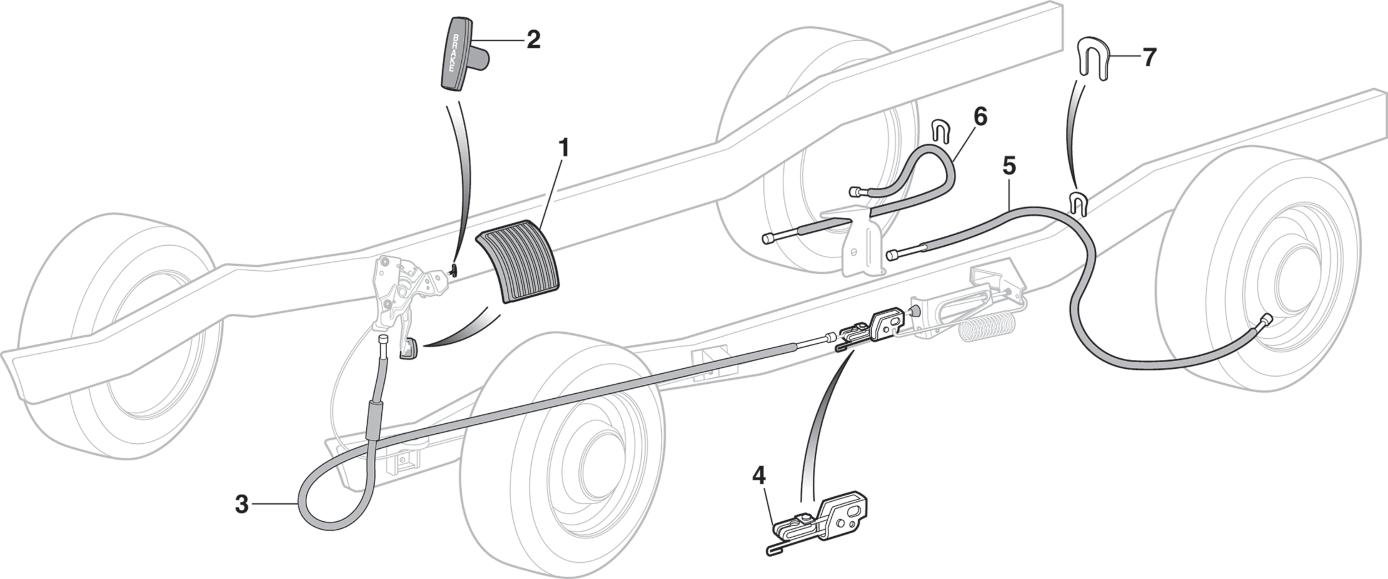 Park Brake Components