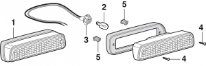 Cargo Lamp and Components
