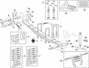 Lmc Truck Front And Rear Suspension Components