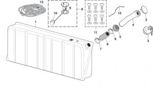 In-Cab Gas Tank and Components