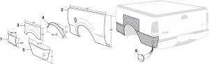 Bed Steel Repair Panels