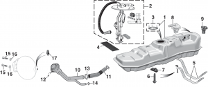Gas Tank and Components