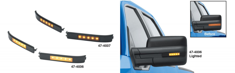 LED Mirror Signal Light Sets