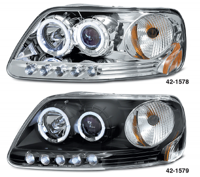 1 Piece Projector Headlight Sets